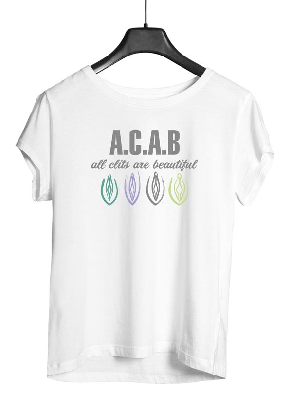 A.c.a.b acab damen shirt